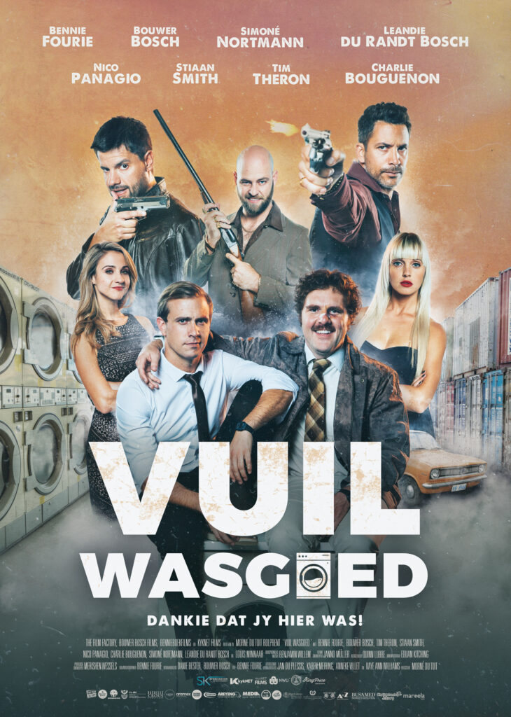 Vuil Wasgoed Poster